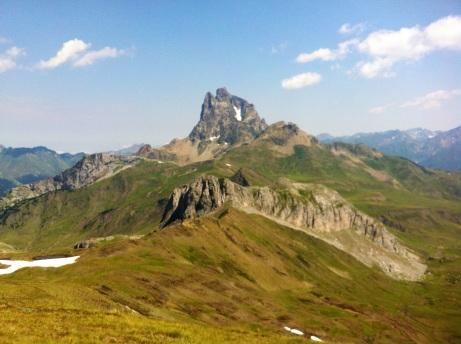 Pic du Midi d´Ossau desde el Pico de Canal Roya (2.347 m.)